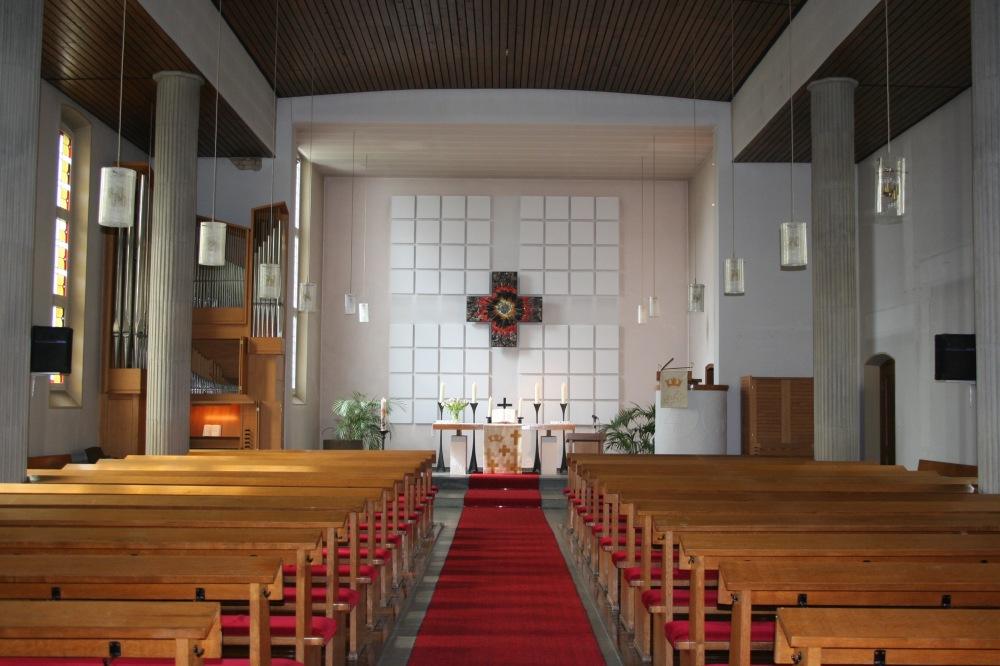 Christuskirche 2016 innen