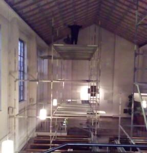 Deckensanierung Pauluskirche 4